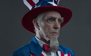 Image of Uncle Sam weeping