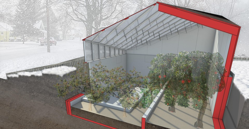 Abandoned Homes in Detroit Are Being Turned Into Greenhouses - The