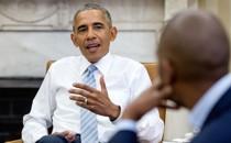 President Barack Obama and Ta-Nehisi Coates at the White House