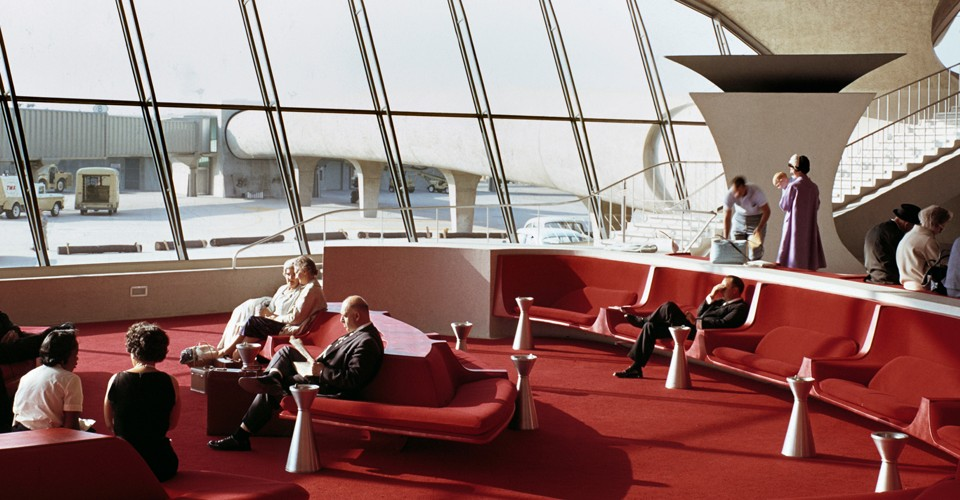 The twa terminal at jfk airport is being turned into a for Hotel at jfk terminal