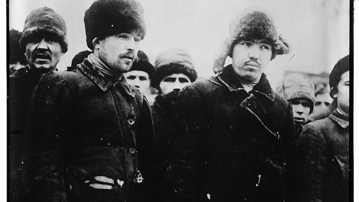 Bolshevik prisonersLibrary of Congress da53adbc7e11
