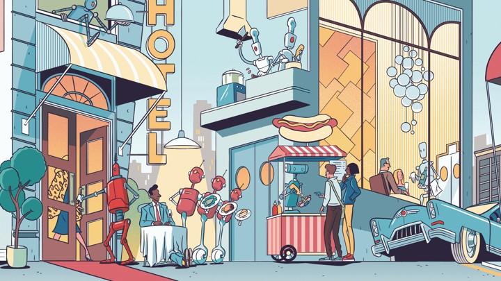 Robots Will Transform Fast Food - The Atlantic