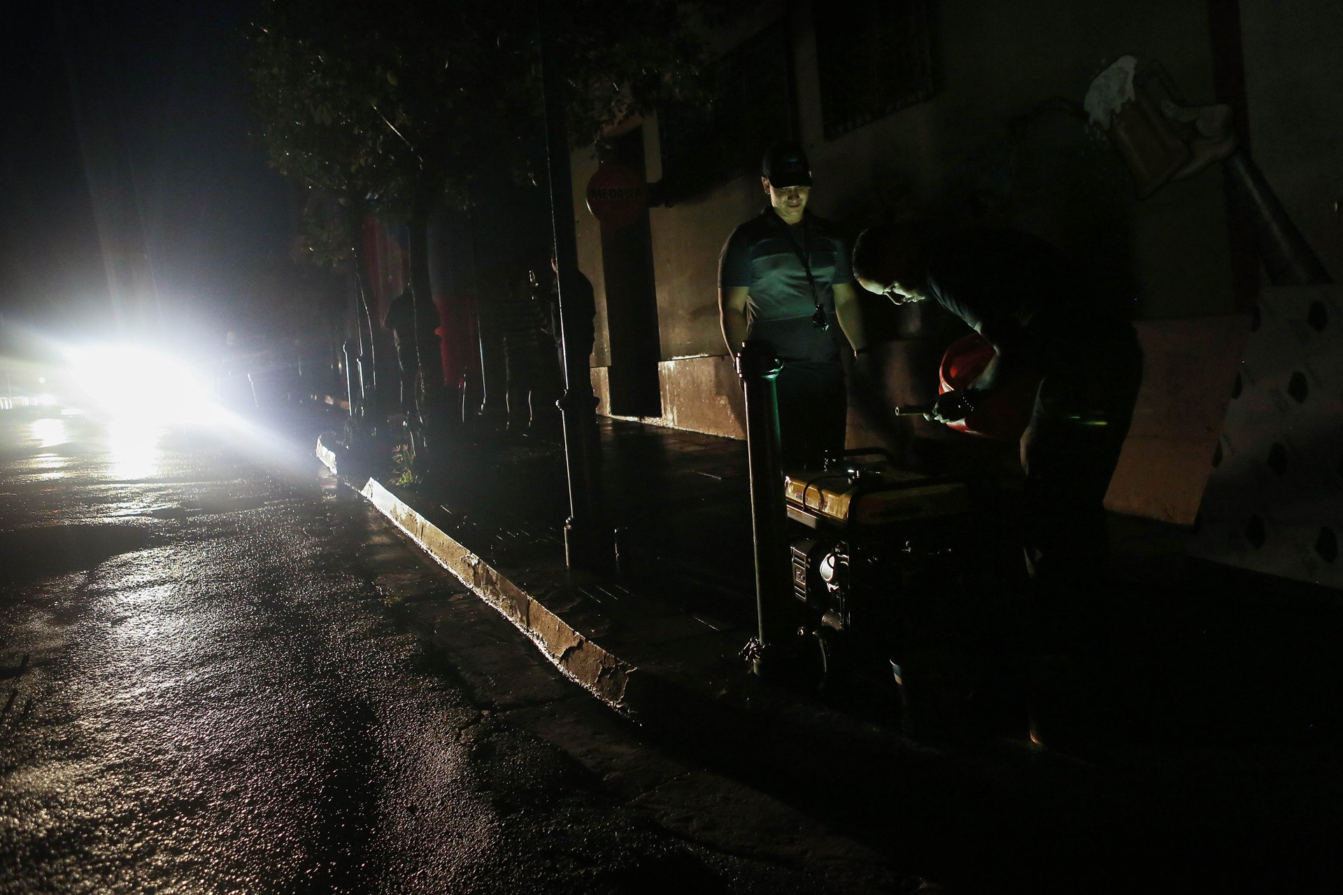 The Deaths That Come When An Industry Regulates Itself Atlantic Portable Generator To House Besides Wiring Residents Of Aibonito Puerto Rico Fill A With Gasoline Three Weeks After Hurricane Maria Hit Island In Mid October Mario Tama Getty