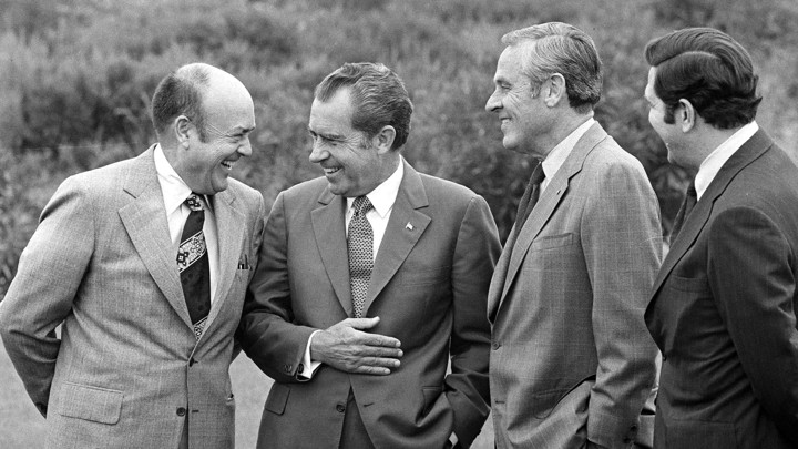 Image result for John Dean and Richard M.Nixon