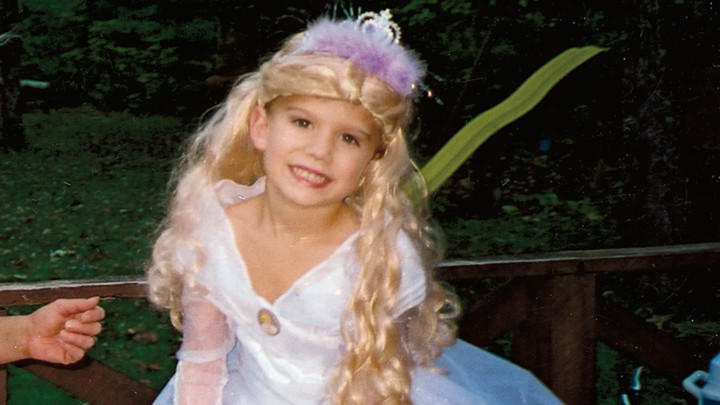 2d9b54acac8 Brandon Simms at age 5 in a Disney princess costume Courtesy of the family