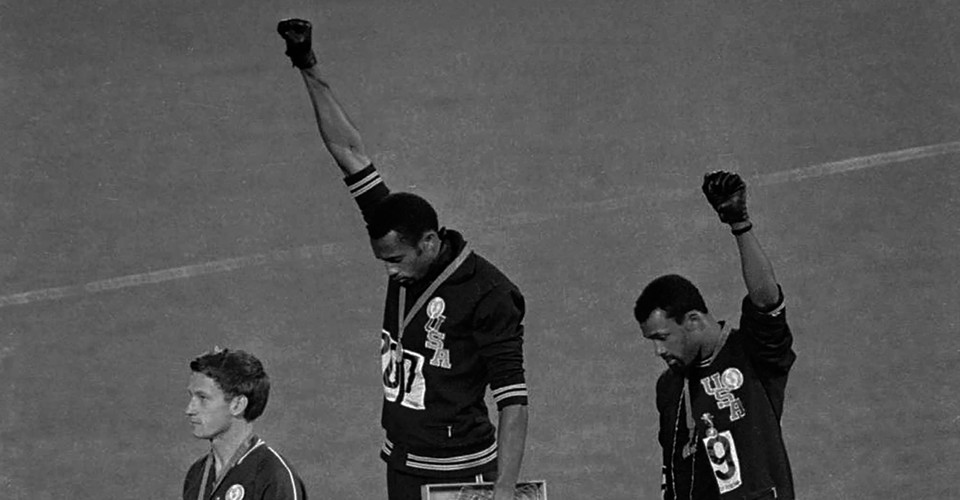 Tommie Smith s 1968 Olympic Protest Turns 50 - The Atlantic 50c522a05