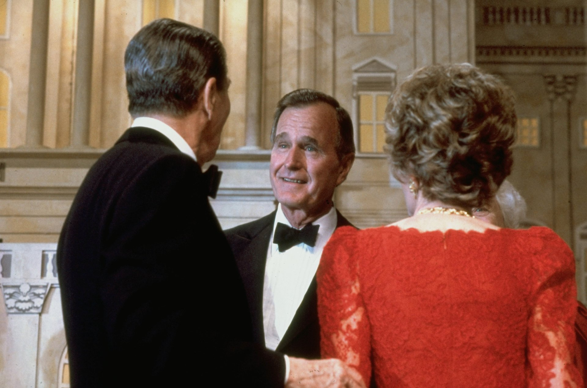 George H W Bush The Last Wasp President The Atlantic