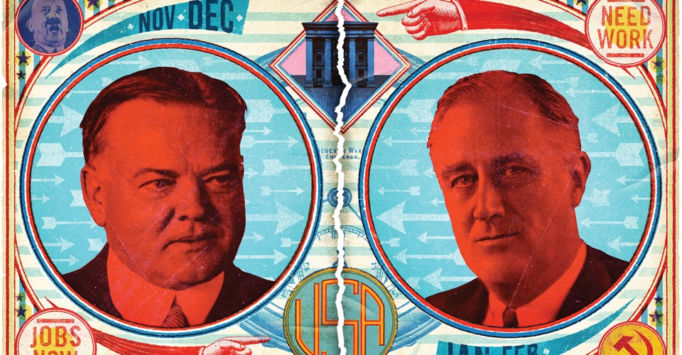 FDR and Herbert Hoover's Fight Over the New Deal - The Atlantic