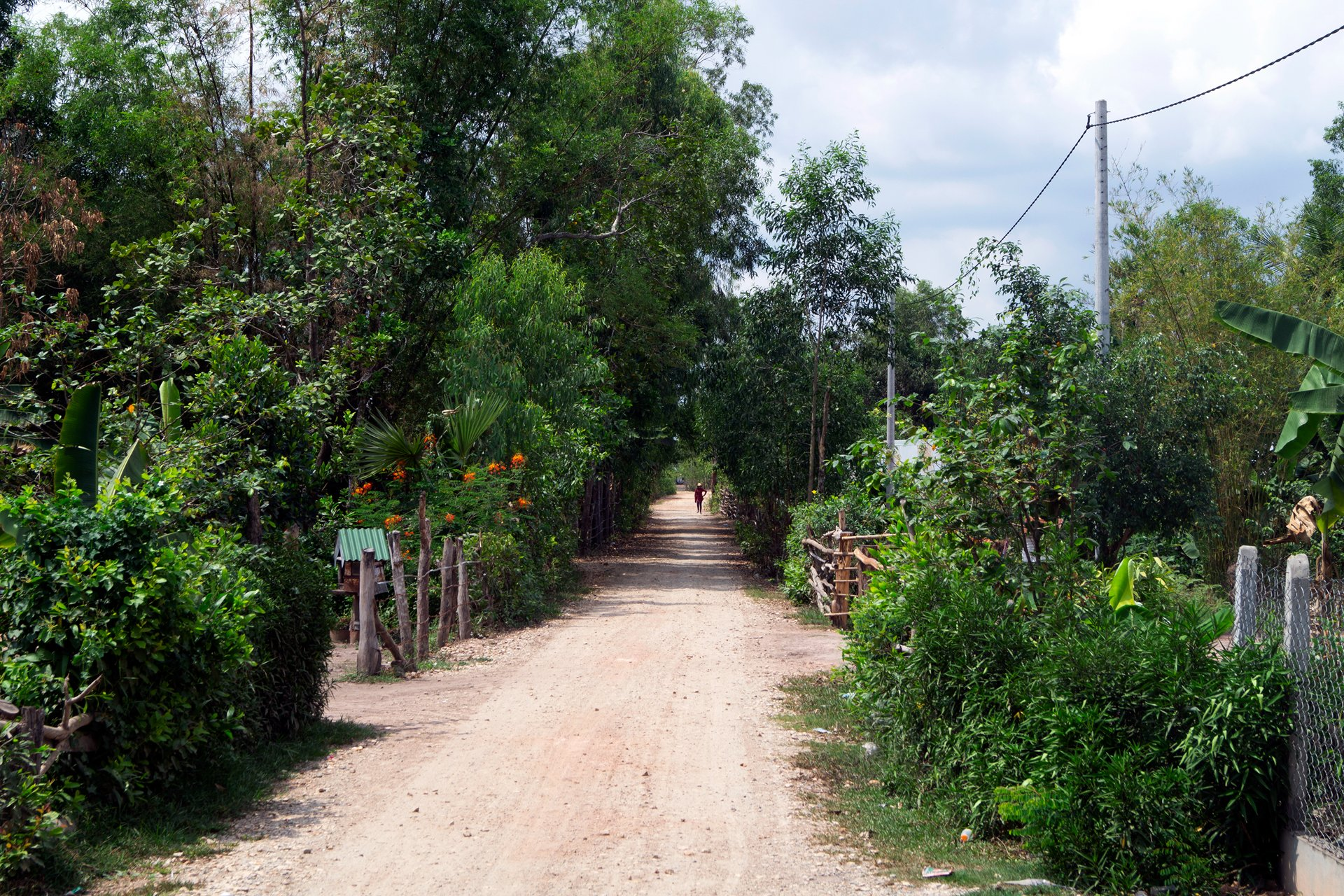 The village of Kampout Tuk, Cambodia.