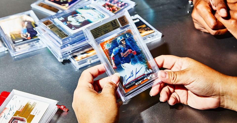 People still trade baseball cards?