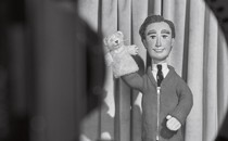 Mister Rogers puppet