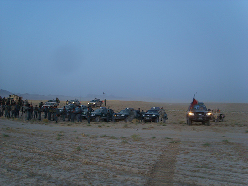 Afghan National Police, Afghan National Army, and Canadian Forces