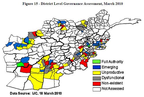 Penatgon's District Level Governance Assessment