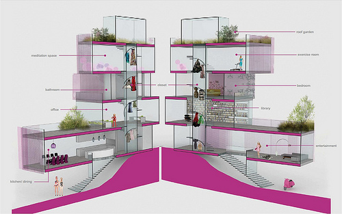 Architect Barbie's Dream House (via AIA)
