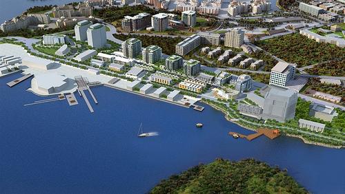 Dockside Green master plan (via Dockside Green)