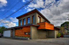 contemporary laneway housing in Vancouver (by: Joe Wolf, creative commons license)