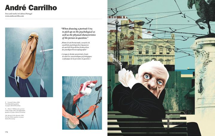 illustration now portraits