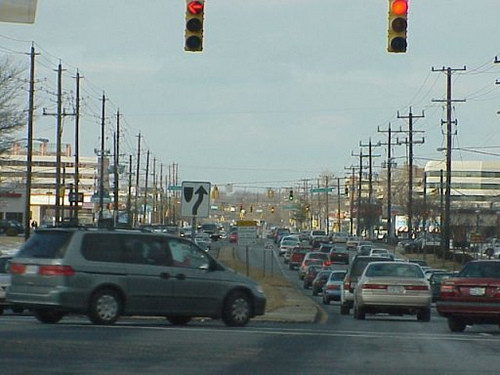 Rockville Pike in Montgomery County (by: beyonddc)