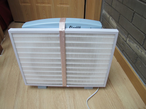 Box Fan Filter : Diy air cleaner and dust filter youtube