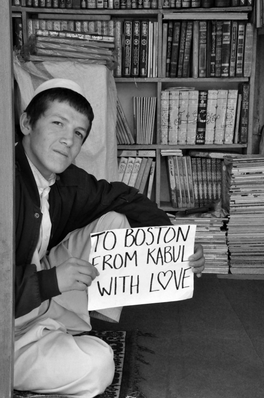To Boston. From Kabul. With Love. 6