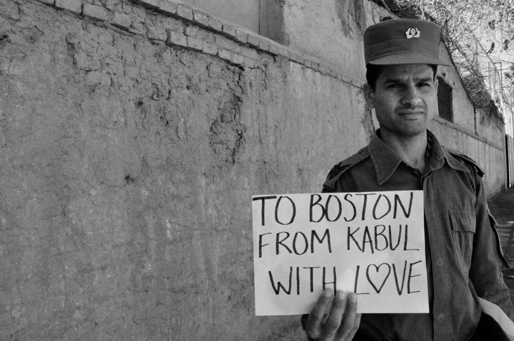 To Boston. From Kabul. With Love. 9