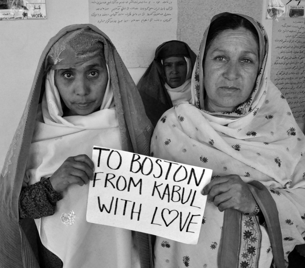 To Boston. From Kabul. With Love. 8