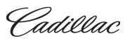 Cadillac Logo Script