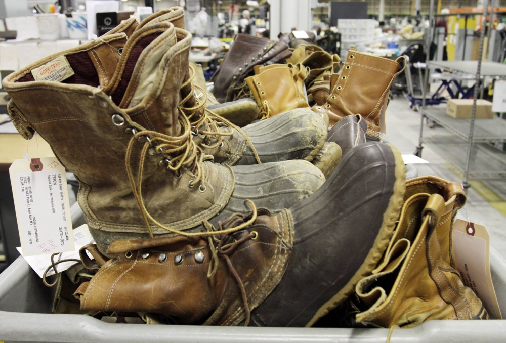 2dc63bc4a43 This year s production schedule is set to hit half a million pairs of duck  boots