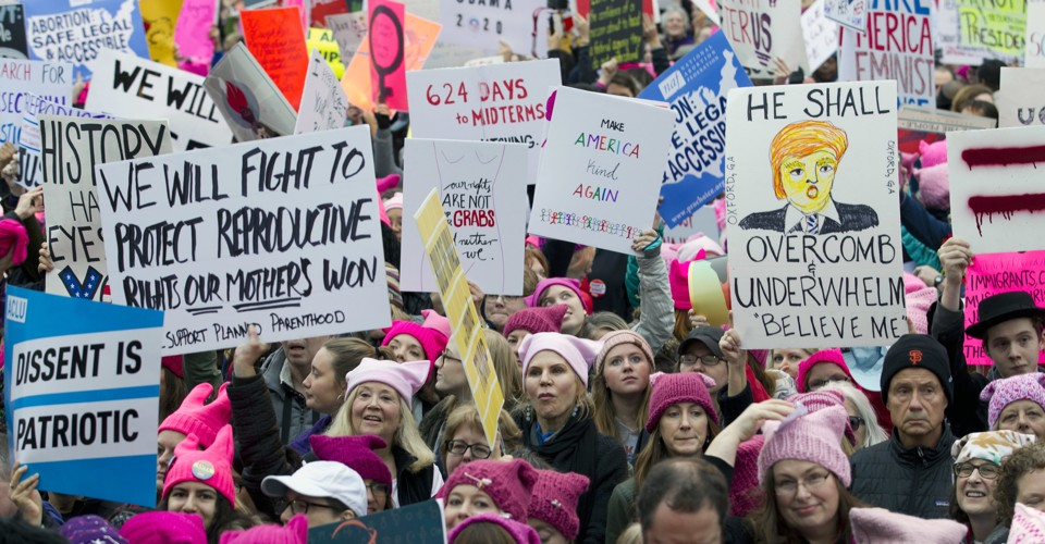 Live Coverage of the Women's March on Washington