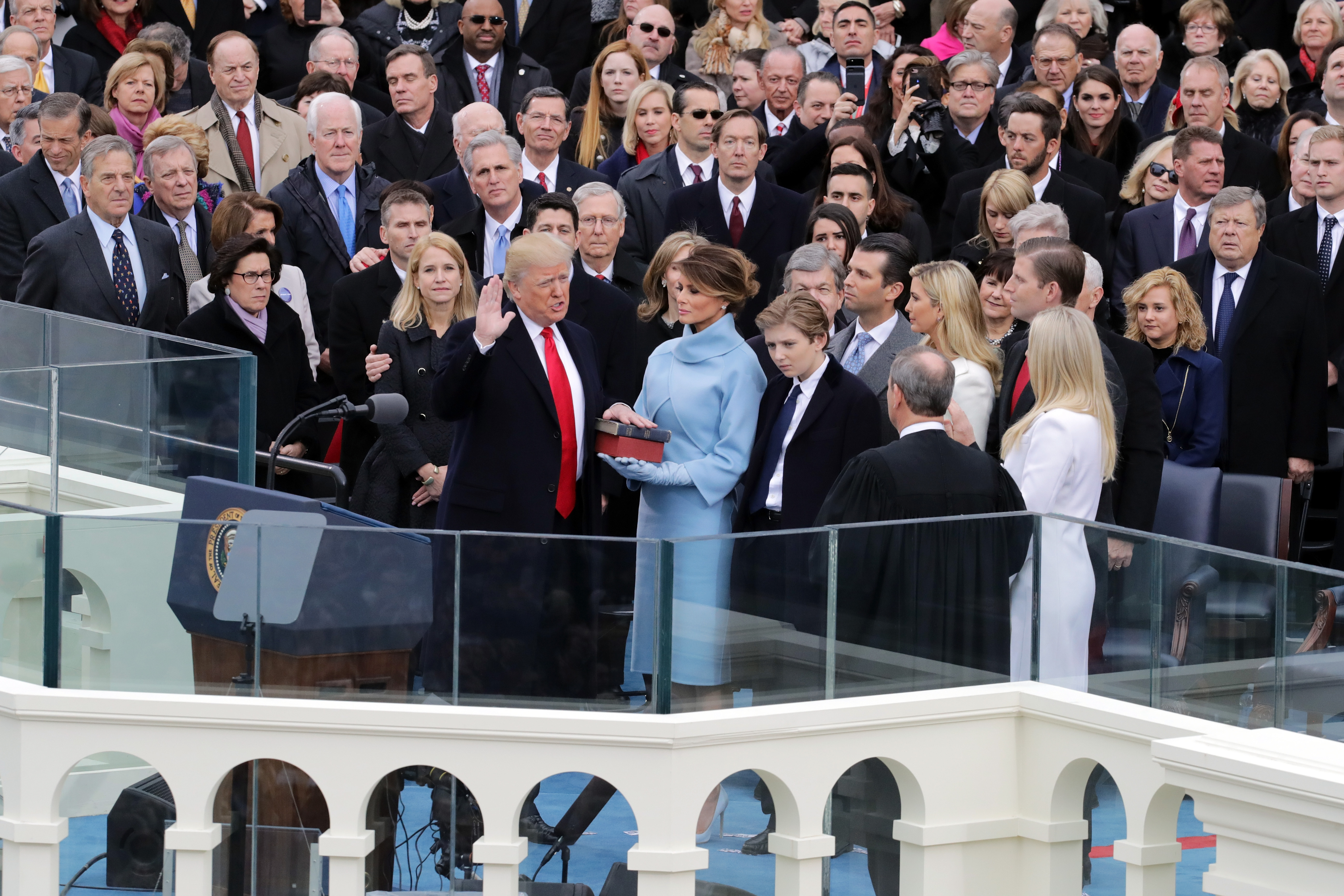 Live Coverage Of Donald Trump S Inauguration The Atlantic