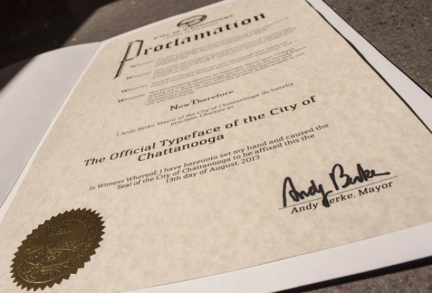 A City Gets Its Own Font The Atlantic