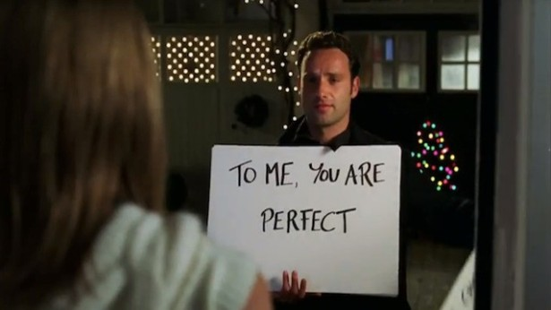 """It's probably because we all grew up with """"Love, Actually."""""""