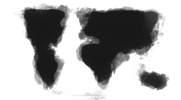 What You Get When 30 People Draw a World Map From Memory - The Atlantic