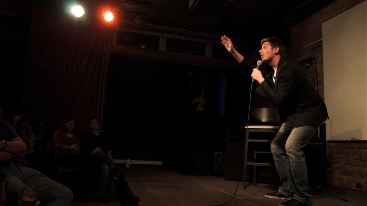Simple Exhibition Stand Up Comedy : The dark psychology of being a good comedian the atlantic