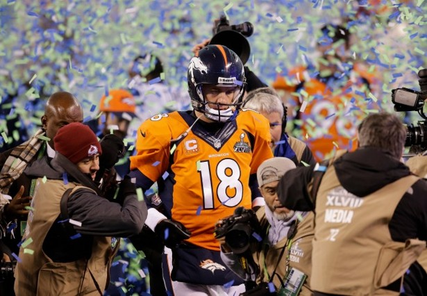 huge discount fa79a 96dab Peyton Manning: The Sad Face of Super Bowl XLVIII - The Atlantic