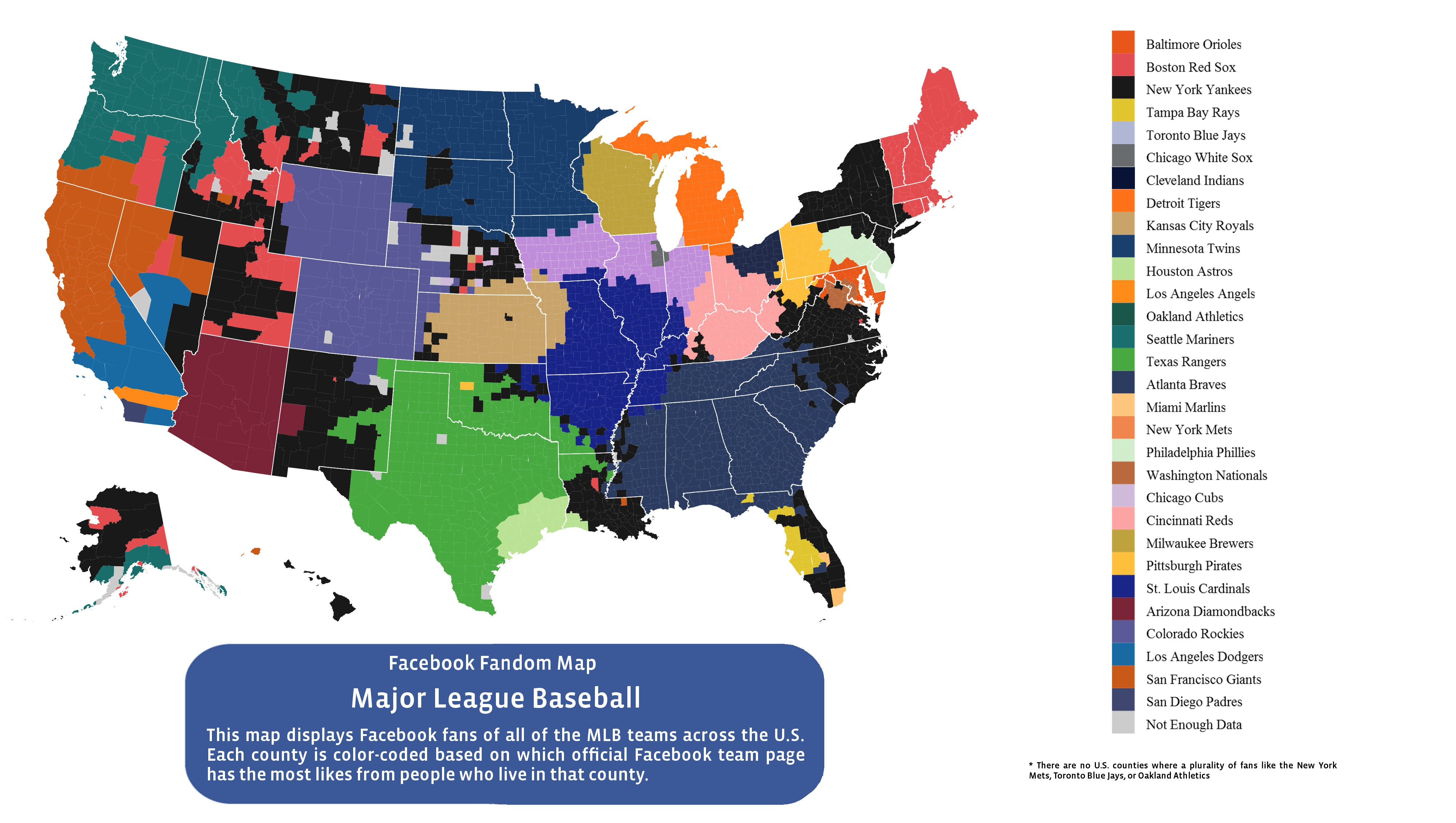 Here Is Every U.S. County\'s Favorite Baseball Team ...