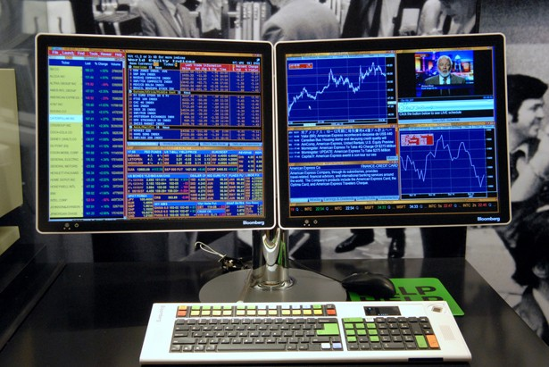 Bloomberg in china it s not about the terminals it s about the data