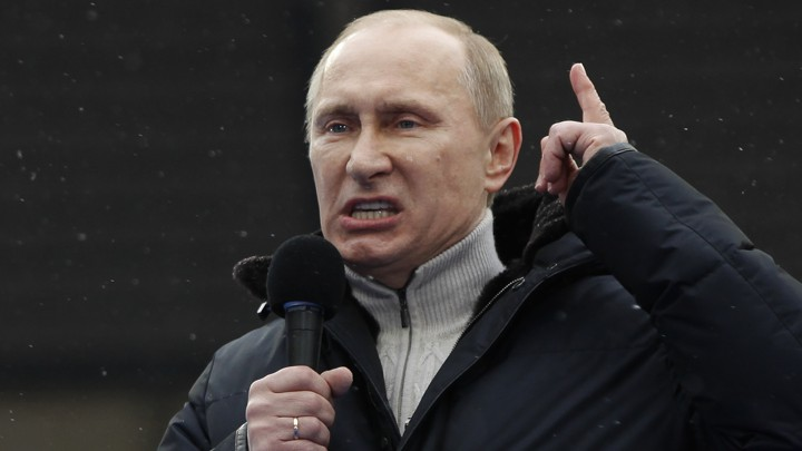 Vladimir Putin, Narcissist? - The Atlantic