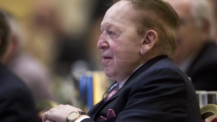The Sheldon Adelson Suck-Up Fe...