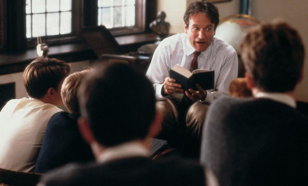 why teaching poetry is so important the atlantic poetry is far more than dead poets society touchstone pictures