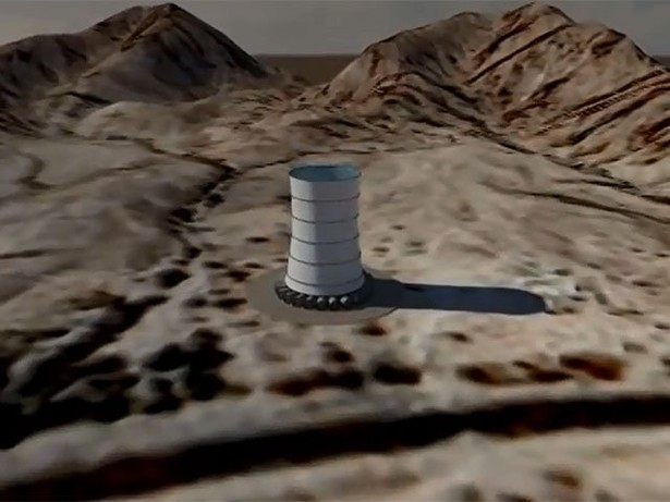 A Skyscraper Sized Solar Wind Tower Could Become North