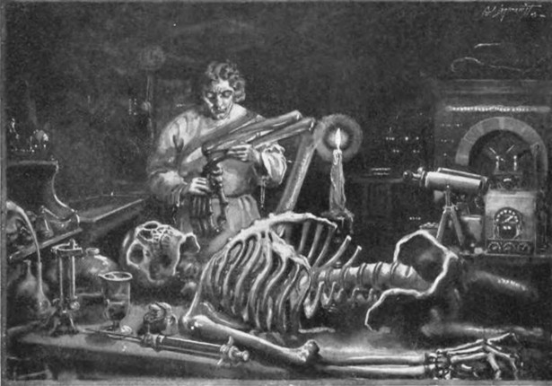 the creativity of mary shelley in the creation of horror in the novel frankenstein In the ethics of scientific creativity  of all the era's adaptations of the prometheus legend is mary shelley's frankenstein,  mary shelley's modern.