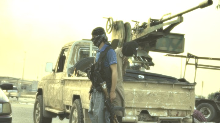 isis main office. Delighful Main An ISIS Fighter In The Iraqi City Of MosulReutersThe Atlantic To Isis Main Office S