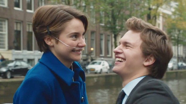 Is augustus and hazel dating in real life