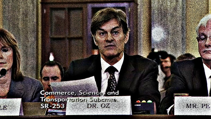 Senators To Dr Oz Stop Promising Weight Loss Miracles The Atlantic