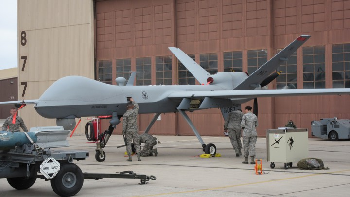 A Rare Look Inside The Air Force S Drone Training Classroom