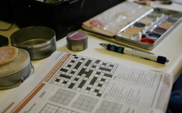 Down but not out the uncertain future of the crossword puzzle the simon newmanreuters spiritdancerdesigns Gallery