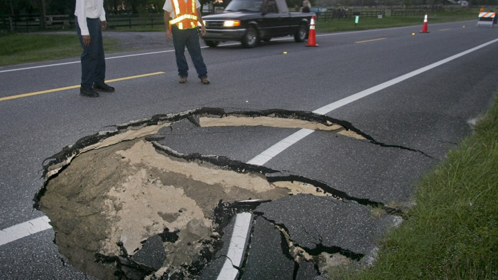 Why Are There So Many Sinkholes In Florida The Atlantic