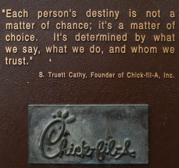 Chick Fil A Selling Chicken With A Side Of God The Atlantic
