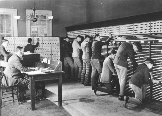 When Phone Operators Were Unruly Teenage Boys The Atlantic